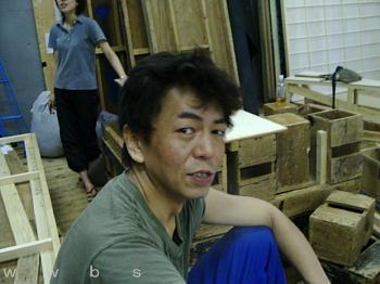 ジュリエットたち稽古場風景2004...